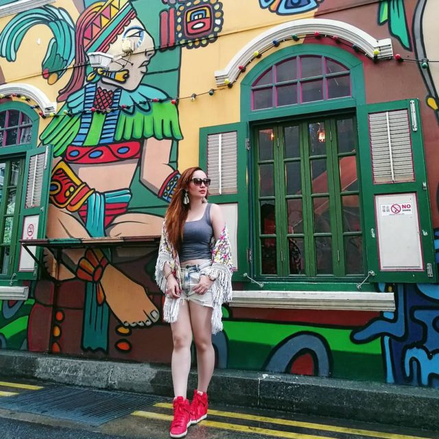 Exploring Singapore todayloving these charming quaint streets at HajiLane hellip
