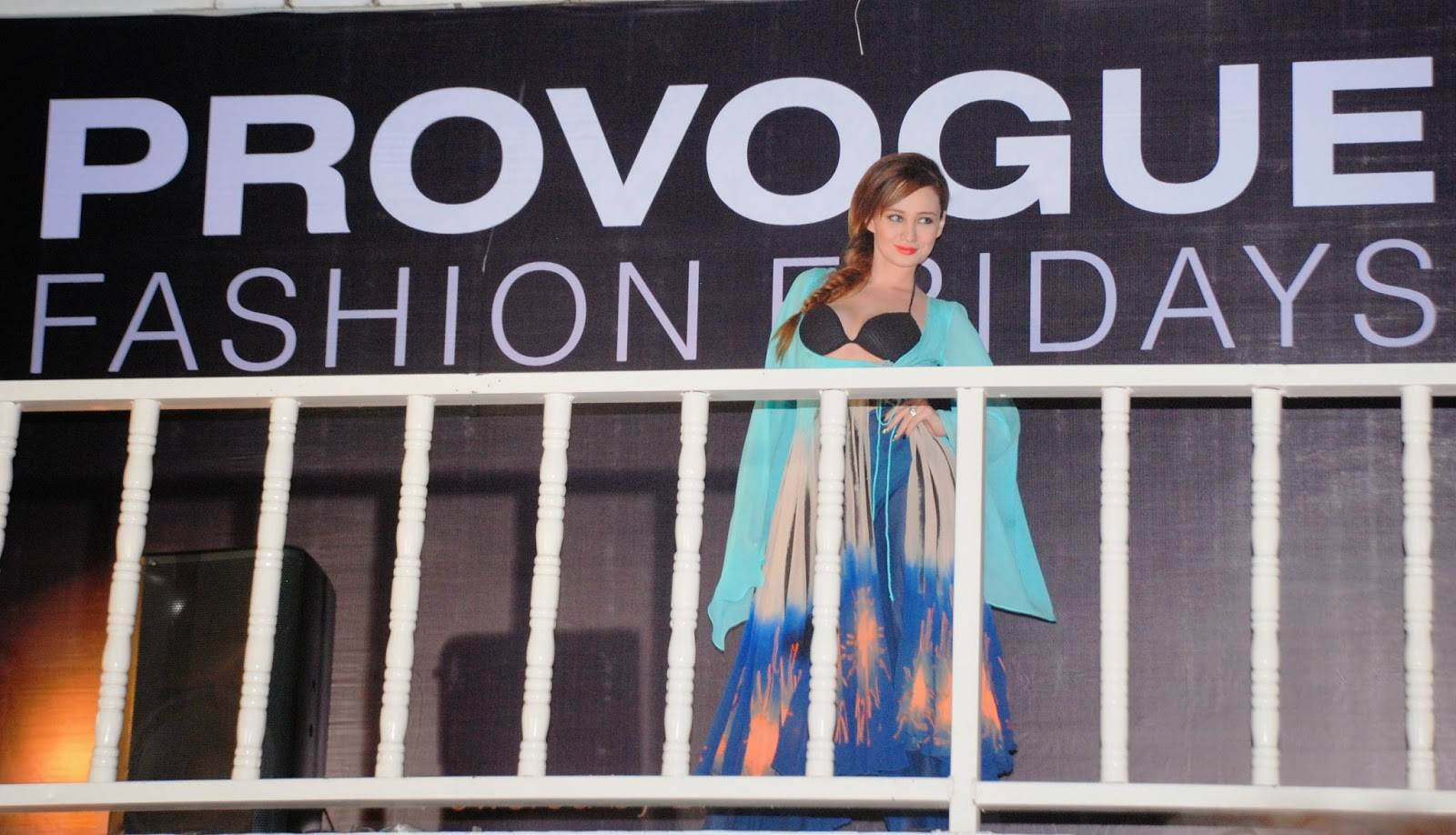 Stephanie Timmins at 'Provogue Fashion Fridays' for Babita Malkani 1
