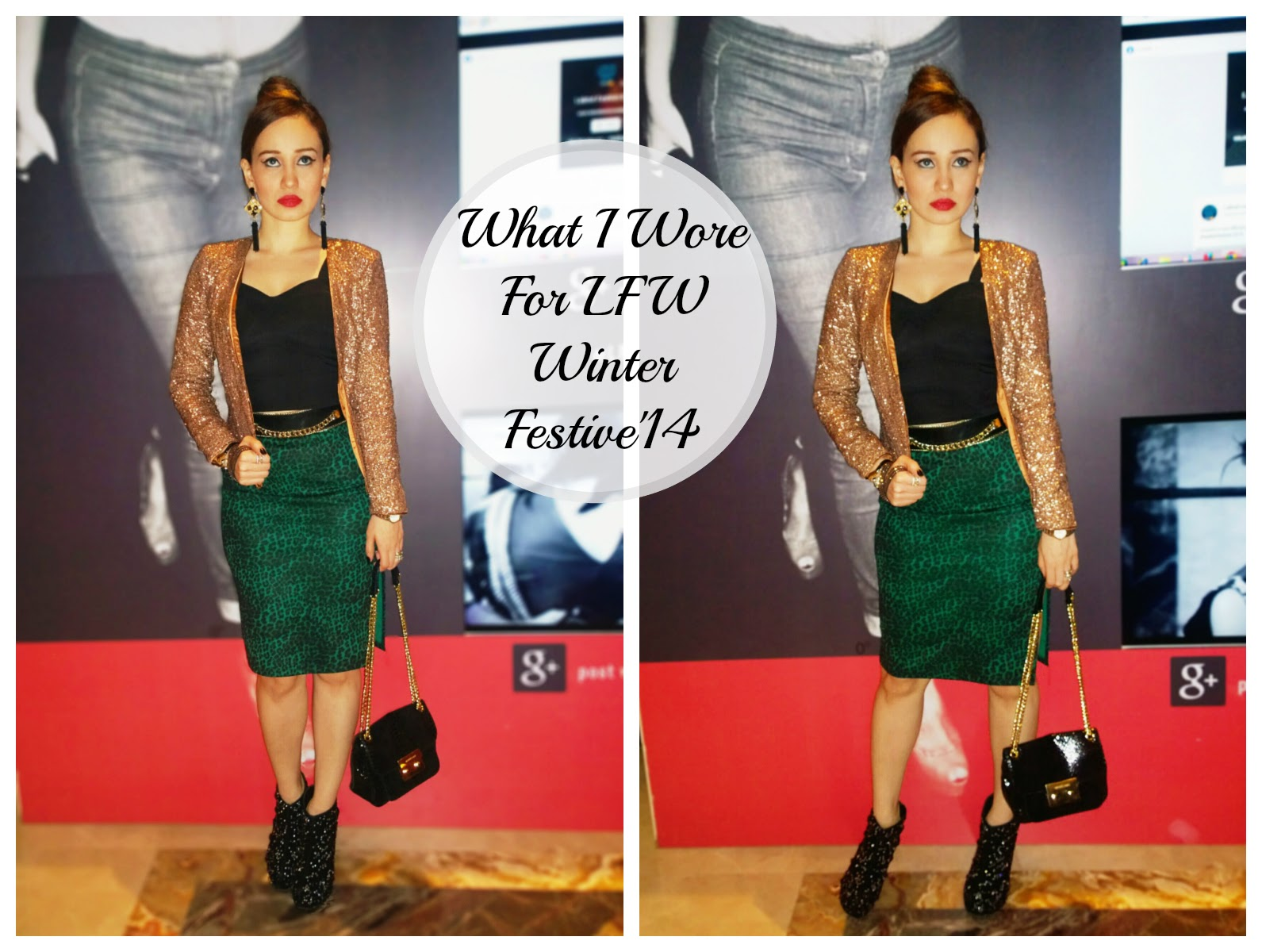 Lakme Fashion Week Winter Festive 2014 OOTD