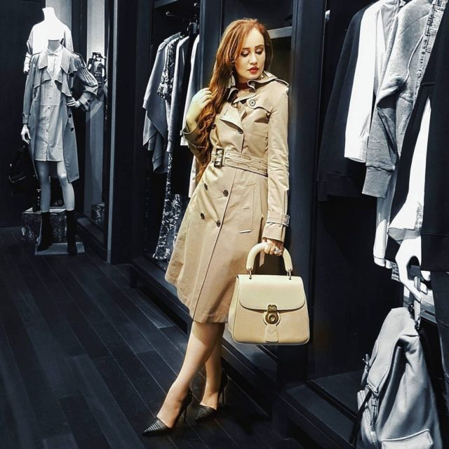 All wrapped up in burberry     feistyfoxdiarieshellip