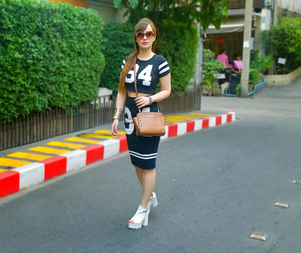 Sports Luxe Twin-set