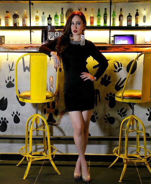 Shuffle Fashion, LBD, Little Black Dress, Backless Dress, Party Dress