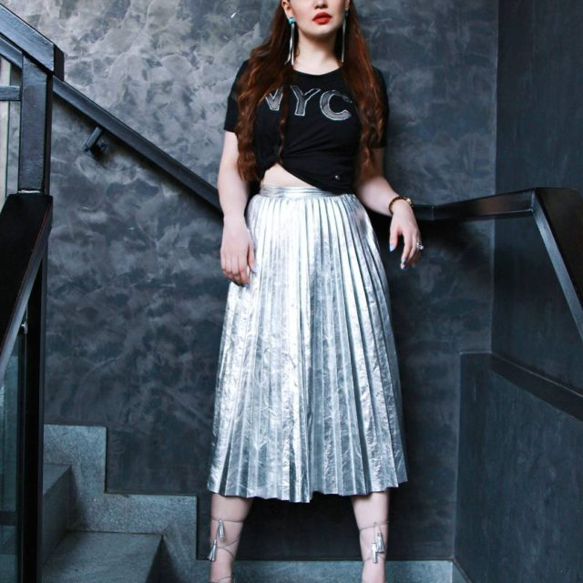 Mesh amp Metallics    feistyfoxdiaries ootd lookbook summerfashionhellip