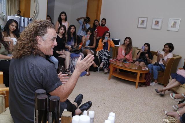 Blogger Session with Wella Professionals Global Ambassador Patrick Cameron