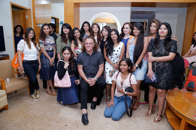 Mumbai bloggers with Wella Professionals Global Ambassador Patrick Cameron
