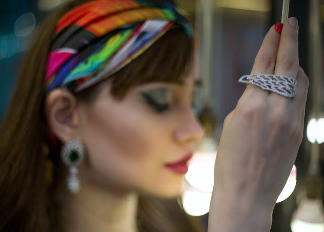 Shazé Accessories, Jewelry, Head Scarf,eagle wing ring