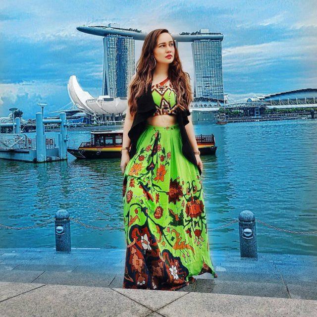 By the picturesque MarinaBay Wearing priakataariapuri youmeandwemedia   hellip