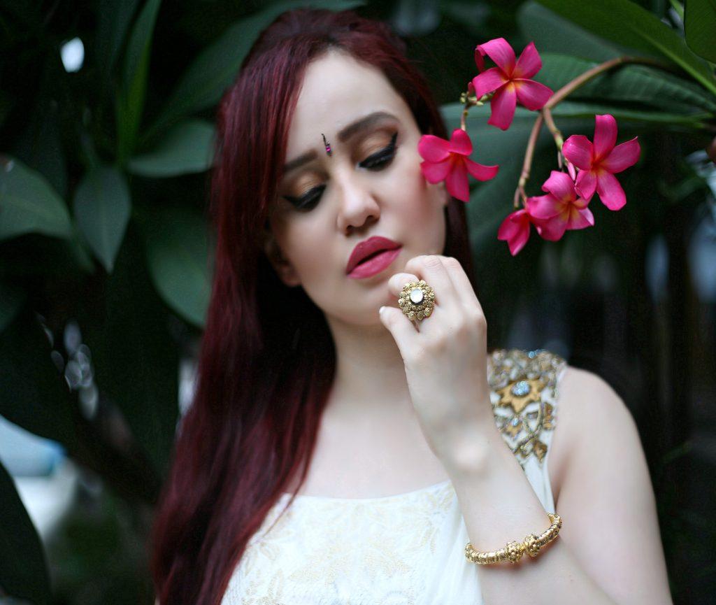 Joolz Jewellery, Gold Ring,Gold Bangle,Festive Look, Gold Jewelry