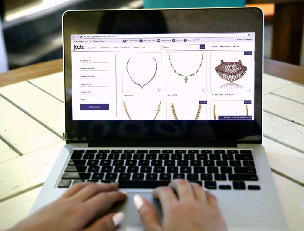 Joolz Jewellery, Buying Jewellery Online