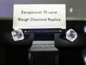 Forevermark Diamond Masterclass, Forevermark Diamonds, Rough Diamond Replica