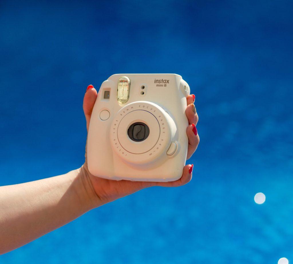 Fujifilm Instax Mini 8 Instant Camera, Polaroid Camera