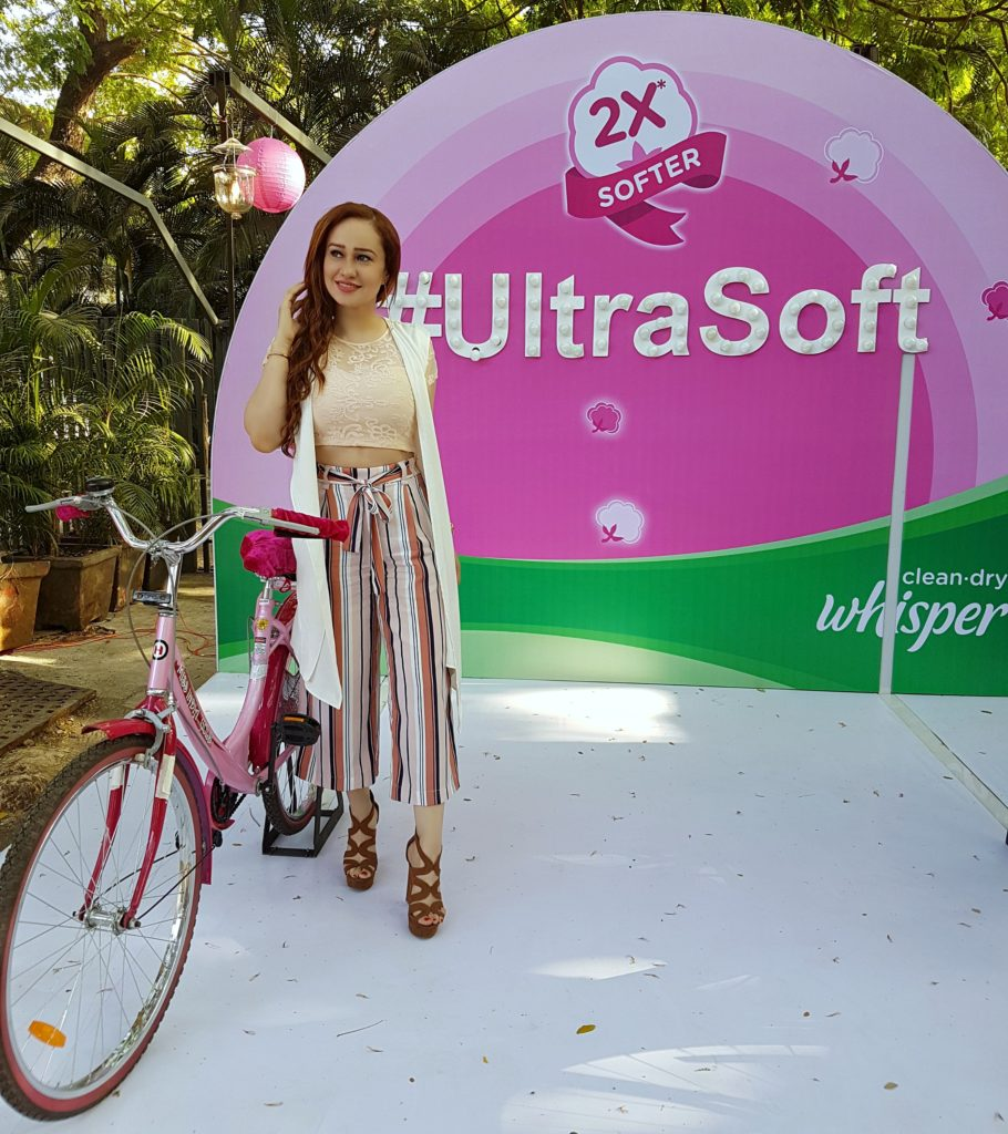 WHISPER ULTRA SOFT MUMBAI LAUNCH , Sanitary Napkins