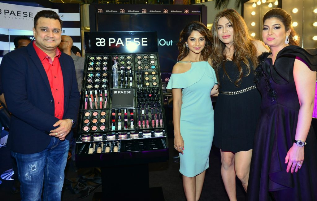 Paese Cosmetics, Mumbai, Infiniti Mall Malad, Make-up, Jennifer Winget, Ojas Rajani