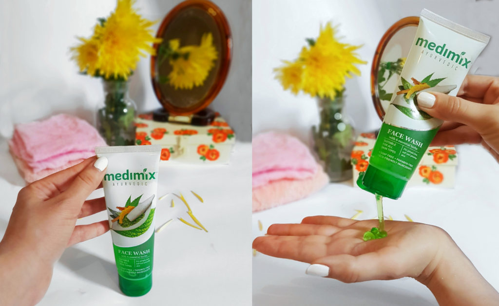 Medimix Ayurvedic Facewash, facewash, clear skin solution