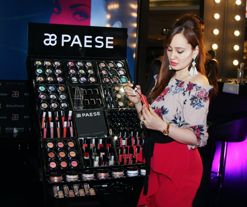 Paese Cosmetics, Mumbai, Infiniti Mall Malad, Make-up, Stephanie Timmins